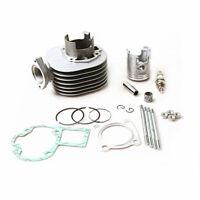 Cylinder Piston Kit Gaskets Pin Top End Set 1987-2006 For Suzuki Quadsport LT80