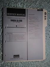 Sansui Se-500 service manual original repair book stereo eq graphic equalizer