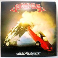 """Metal Rendez-Vouz by Krokus 1980 Vinyl Record 12"""" 33RPM LP"""