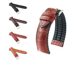 "HIRSCH Performance Watch Band, Model ""Paul"", 18-24 mm, 4 colors, (L), new!"