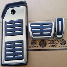 Audi Q7 4M original SQ7 Pedalset Pedale Pedalkappen Fußstütze pedal pads caps