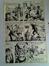 """MIKE SEKOWSKY ART Showcase #90 Page 17 """"Jason's Quest"""" DC 1970"""