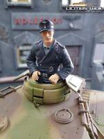 Soldado Tanques Alemanes Tripulación Figura 1:16 con Ansteckbaren Piernas F1013