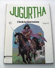 JUGURTHA . 4 . L'ILE DE LA RESURRECTION . VERNAL , FRANZ . BD EO DARGAUD