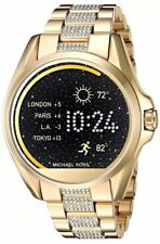 Michael Kors Women's Access Bradshaw Digital Gold Steel Smart Watch MKT5002