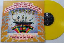 BEATLES Magical Mystery Tour YELLOW VINYL 1978 g/f  book Parlophone PCTC 255 LP
