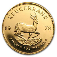 1978 South Africa 1 oz Gold Krugerrand - SKU #23734