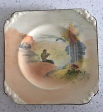 Vintage c 1929 Royal Doulton Pipes of Pan Series Ware Plaque