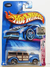 Hot Wheels 2004 Crank Itz 40s Woody #146 Factory Sealed