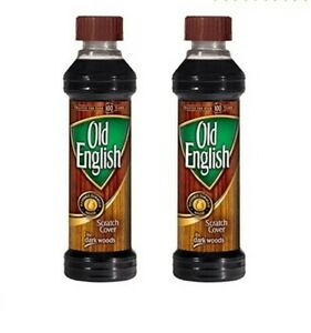 Old English Scratch Cover For Dark Woods Polish 8 oz Pack of 2