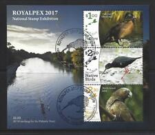 NEW ZEALAND 2017 ROYALPEX NATIONAL STAMP EXHIBITION MINIATURE FINE USED