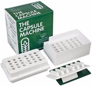 Capsule Machine Size 00 Empty Capsules Filler Supplements Filling Vitamin Pill
