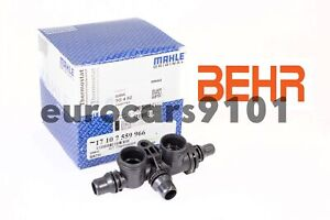 BMW Behr Hella Automatic Transmission Oil Cooler Thermostat TO482 17107559966