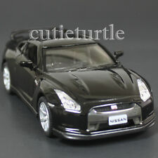 Kinsmart 2009 Nissan Skyline GT R R35 1:36 Diecast Toy Car Black