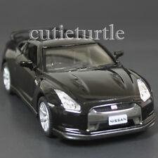 Kinsmart 2009 Nissan Skyline GT R R35 1:36 Diecast Toy Car Black