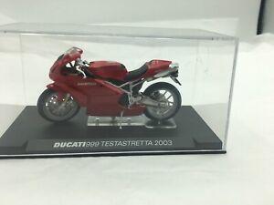 Ducati 999 Testastretta 2003 Model In Case Approx 1:72