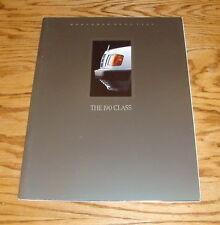 Original 1989 Mercedes Benz 190 Class Deluxe Sales Brochure 89 D 2.5 E 2.6