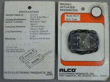 LOT of 4 Alco Magnet Actuated Reedswitch RS-11