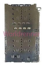 Dual SIM Lector Tarjeta Conector Card Reader Connector Samsung Galaxy S7 Duos