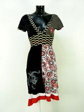 DESIGUAL Robe T XS/multicolore avec motif & LUXE PUR (O 7768 F)