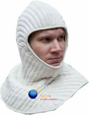 Medieval Thick Padded Coller cotton Gambeson theater costume sca larp