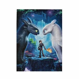 How To Train Your Dragon 300 /500/ 1000 Pieces Wood Jigsaw Education Puzzle Game