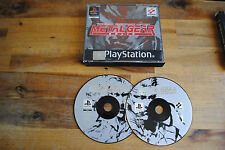 Jeu METAL GEAR SOLID sur Playstation 1 PS1 (one) REMIS A NEUF (sans notice)