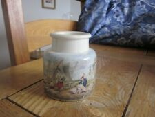 Excellent Condition Prattware Pot 'Mending The Nets' Pratt Ware