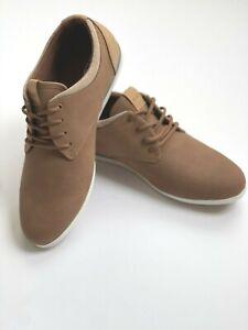 ALDO Men's Light Brown Casual Dress Sneaker Shoes light weight Aauwen Piick Size