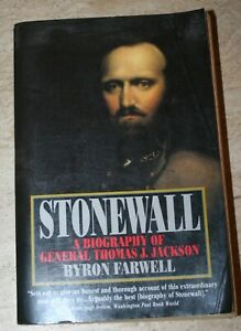 Wargames Source Book - Stonewall - by Byron Farewell (Paperback)
