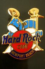 HRC Hard Rock Cafe Newport Beach Blue Drum Set Red Logo