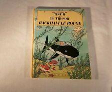 Comics Tintin the Treasure of Rakham the Red Hergé Edition B39 1971