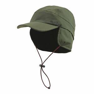 Musto Fleece Lined Waterproof Hat in Green