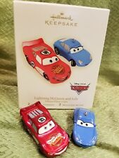 Hallmark Christmas Ornament 2007 Lightning McQueen and Sally Disney/Pixar CARS