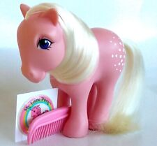 my little pony g1*VARIANT COTTON  CANDY FRANCE W/RARE PUFFY STICKER*MINT COND.!
