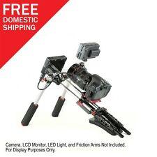 "P&C Shoulder Support Rig Kit PR-1 with Free 7"" Arm DSLR & DV Camera Sony Nikon"