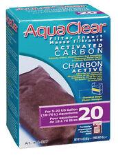 Hagen AQUACLEAR 20 ACTIVATED CARBON INSERT Aquarium Fish 1.6 oz.