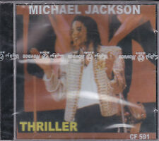 CD 9T MICHAEL JACKSON THRILLER  PRESSAGE TUNISIE NEUF SCELLE