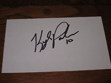 Kylr Palmieri Autographed 3X5 Index Card-Anahiem Ducks-Usa