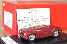 FDS ALFA modelo 43 1947 ALFA ROMEO 6c 2500 Spyder Speciale Rojo AR