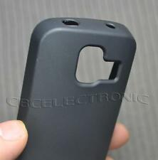New Black TPU Matte Gel skin case back cover for Nokia 110 111 113