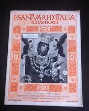 SANTUARI D' ITALIA 1931 MARIA SS. DI MONTEVERGINE