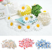 Mini Artificial Fake Sunflower Daisy Flower Head Bulk Wedding Party Decoration