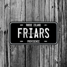 Providence College Friars Rhode Island License Plate