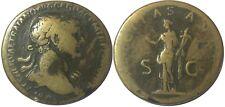 5. Trajan 112-114 AD Sestertius 26.3g 33.5mm RIC 625 C 144 Roman imperial coin