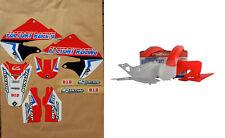 New CR 125 98 99 CR 250 97 98 99 FLU PTS4 Graphics Sticker Plastic Kit Plastics