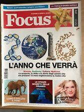 RIVISTA FOCUS SCOPRIRE E CAPIRE IL MONDO n. 279 Gennaio 2016