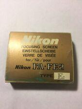 Nikon E2 Grid Focusing Focusing Screen FE2 FM FM2N FA, FE -Clean-