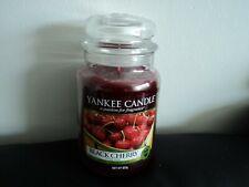 Yankee Candle - Large 623G   Jar - Black Cherry NEW/GENUINE