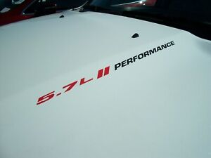 5.7L / HASHMARKS / PERFORMANCE (pair) FITS: Dodge Charger Ram 1500 Hood decals